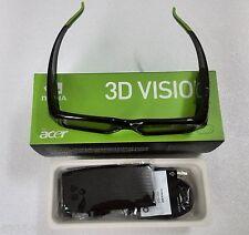 2 X Genuine New Wireless 3d glasses 3d vision nv Shutter nVIDIA