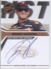 brian vickers auto autograph nascar sprint cup racing 2008