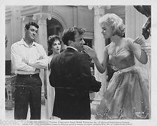 ORIG.1961 PHOTO- COME SEPTEMBER - SLAP IN THE FACE - SHOCKED - BACK HAND