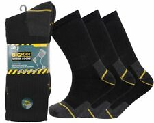 12 Pairs Mens Heavy Duty Work Socks Shoe Size 6-11 Safety/steal Toe Boot
