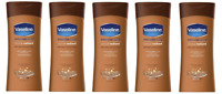 Vaseline Lotion Cream Intensive Care Cocoa Radiant 200 Ml PACK OF 5