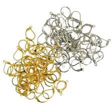 100pcs Crochet pour Boucles d'Oreilles - Apprêts pour la Création de Bijoux