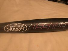 "LOUISVILLE SLUGGER SLAS14-RR ASSAULT BASEBALL BAT 30""/20 oz -10 2 5/8"""