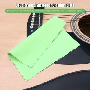 Microfiber Cleaning Wiping Cloth For Instrument Guitar Violin Trumpet V2G8 Clean