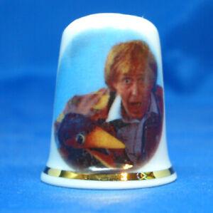 Birchcroft  Thimble -- Comedy Stars -- Rod Hull with Emu  --  Free Gift Box