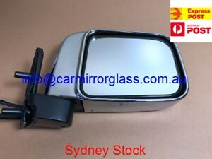 DOOR MIRROR FOR NISSAN NAVARA D22 1997-2015 RIGHT SIDE ( ELECTRIC, CHROME)