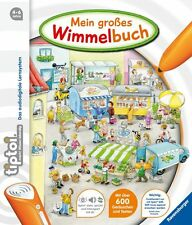 "Ravensburger TIPTOI 00597 - Book "" My Large Wimmel Book "", NEW"