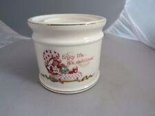 Vintage Strawberry Shortcake porcelain candle holder, pillar base