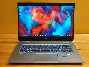 """HP ZBook Studio x360 G5 15.6"""" 4K Core i9-8950HK 32 Go, SSD 1 To Quadro P1000"""