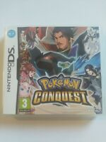 Pokemon Conquest (Nintendo DS 2012) Perfect Condition *All Legendarys Unlocked**
