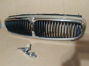 2002-2008 OEM Jaguar X-Type Front Chrome Grille & Jaguar Emblem
