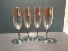 Bohemia Colony Crystal Champagne Flutes
