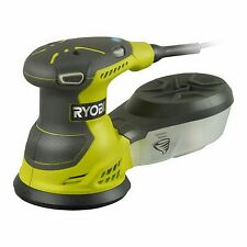 Ryobi RANDOM ORBITAL SANDER 300W Variable Speed Dial ROS300-S, Cyclonic Dust Box