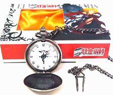 Anime Fullmetal Alchemist Cosplay Pocket Watch Toy New In Box Retro Pocket Watch