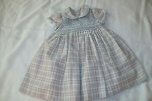 Baby girl smocked dress from Pretty Originals age possible size 12-18 m
