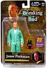 """BREAKING BAD-Jesse Pinkman Blue Hazmat Suit 6"""" Action Figure Previews Exclusive"""