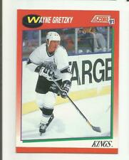 WAYNE GRETZKY 1991 SCORE #100 LOS ANGELES KINGS