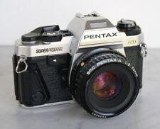 PENTAX Super Program SLR Film Camera with 50mm f2 Prime Lens. Works Great