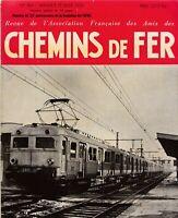 revue association française des amis des chemins de fer n°184. janv-fevr 1954