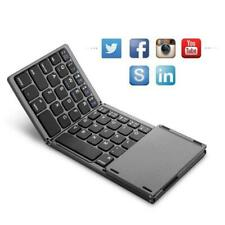 Foldable Bluetooth Wireless Keyboard with Touch Pad for Smart Phone PC Tablet