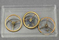 Posten Ersatzteile Unruhen f Uhrwerk Cylinder Taschenuhr Uhr Uhrmacher