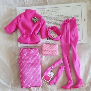 Barbie Puppe poupée muneca doll superstar SILKSTONE FASHION PROUDLY PINK