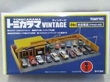 Tomytec TOMICARAMA Vintage 04c Used Car Shop Axel 426 1/64 Diorama Set F/S
