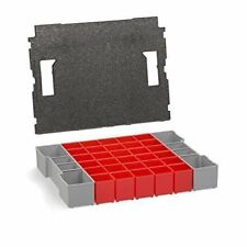 Bosch Sortimo Set of Inset Boxes for L-Boxx 102 Deckelpolster A3