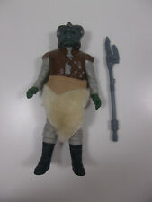 Vintage 1983 Kenner Star Wars RotJ Klaatu Figure Complete w/Skirt & Weapon