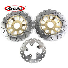 Front Rear Brake Disc Rotor Set For Suzuki GSXR750 1989-1995 GSXR1100 1989 1990