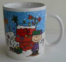Galerie ~ Merry Christmas Charlie Brown ~ Coffee Cup Mug ~ Lucy & Snoopy