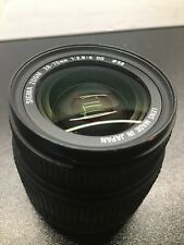 SIGMA 28-70MM F/2.8-4 D DG AUTOFOCUS LENS FOR CANON