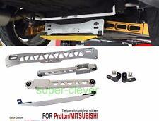 Rear Lower Control Arm Subframe Brace Tie Bar Mitsu Mirage Evo Proton Neo 97 new