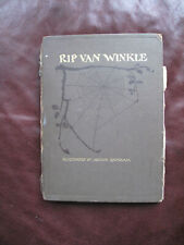 RIP VAN WINKLE - ILLUSTRATED BY ARTHUR RACKHAM OCTOBER 1916 24 COLOUR PLATES