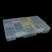 New AA AAA C D 9V 14500 Batterie Plastik Aufbewahrungsbox / Organi / J2K6 K G1A9