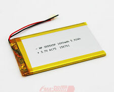 Replace E-reader ONYX M90 cell 355585 3.7V 1600mAh LiPo Rechargeable Battery