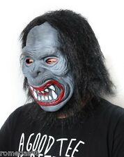 Black Hairy Ape Halloween Funny Scary Costume Mask