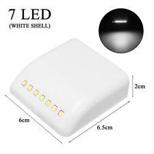 Wireless PIR Motion Sensor Night Light 7 LED Cabinet Stair Lamp Battery Powered