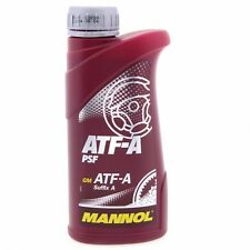 0,5 Liter MANNOL Hydrauliköl ATF-A PSF Hydraulikflüssigkeit 4036021111124