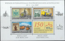 CYCLING:2000 AUSTRIA -WIPA 2000 Stamp Exhibition Min Sheet  SGMS2564 MNH