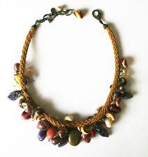 Collier marque Nature Bijoux - coquillages et pierres