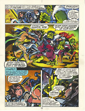 ELFQUEST hand colored art page Donning-Starblaze Book 4 pg 160 UNIQUE signed