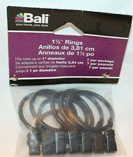 "Bali 1 1/2"" Bronze Blinds Rings  7 Pack"