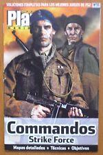 Guía Commandos: Strike Force (PS2, XBOX, PC) mapas detallados,técnicas,objetivos