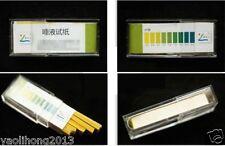 100PCS Strips pH 5.5~9.0 Test PH Testing Paper For Urine & Saliva