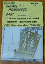 Plano HO #457 Extended Vision Caboose Ladders & Walkway Supports -- Right Hand M