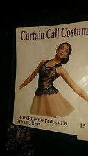"""CURTAIN CALL COSTUMES"" CHERISHED FOREVER GIRLS DANCE / PAGEANT DRESS (SIZE:CL)"