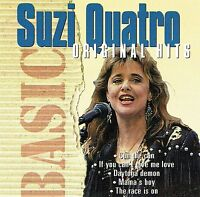 (CD) Suzi Quatro - Original Hits - Can The Can, If You Can't Give Me Love, u.a.