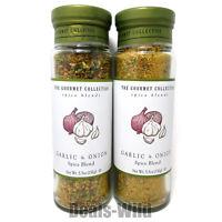 2 Garlic & Onion Seasoning Gourmet Collection Spice Blend 5.5oz
