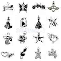 Multi Style Cremation Keepsake Pet Ash Holder Memorial Urn Necklace Pendant